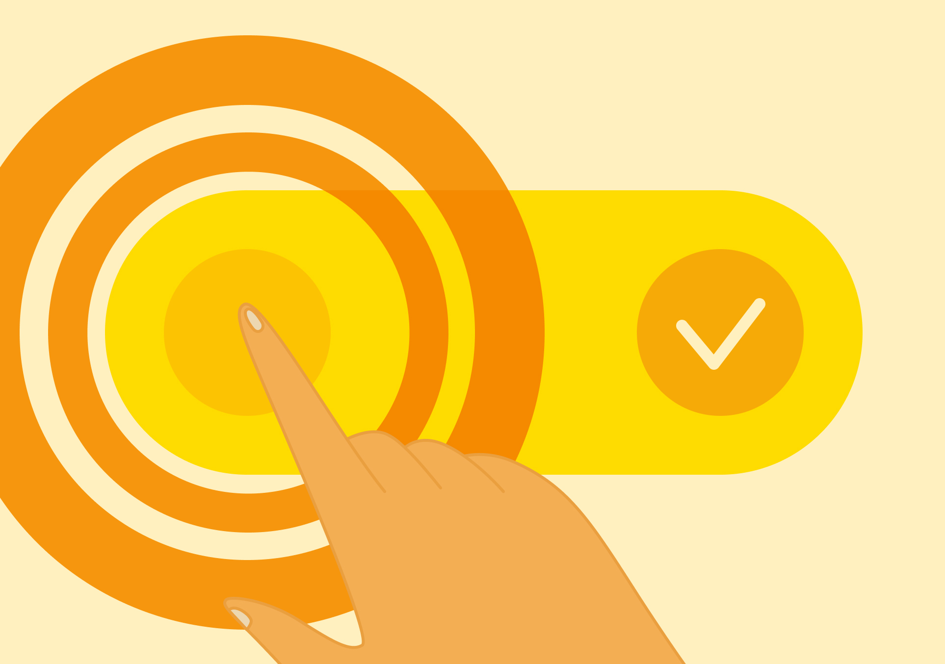 Как делать кнопки и иконки, по которым легко попадать
